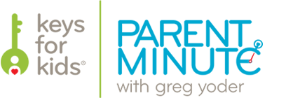 Parent Minute with Greg Yoder Logo